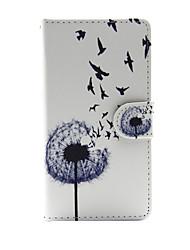 Til Apple iPhone 7 7 plus iphone 6s 6 plus iphone se 5s 5 tilfælde dække mælkebøtte mønster pu læder tasker