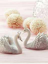 cheap -Creative new swan card holder seats (Set of 2) Wedding Reception