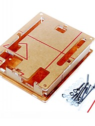 cheap -Case Enclosure Transparent Acrylic Box Clear Cover for Arduino Uno R3 Board R3