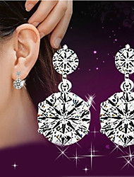 cheap -Lureme®  Korean Fashion Studded With Drill 925  Sterling Silver Twin Hypoallergenic Earrings