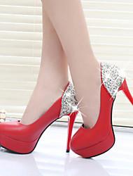 povoljno -Ženske cipele - Salonke / štikle - Formalne prilike / Zabava i večer - Umjetna koža - Stiletto potpetica - Štikle / Zaobljene cipele -