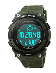 cheap -Skmei® Men's  Outdoor Sports Multifunction LED Watch 50m Waterproof Assorted Colors Wrist Watch Cool Watch Unique Watch