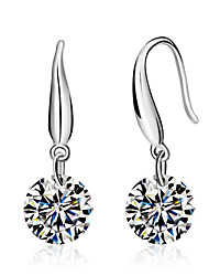 cheap -Lureme®  Korean Fashion 925  Sterling Silver Aaa Zircon  EarringsImitation Diamond Birthstone