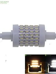 7W R7S LED a pannocchia Modifica per attacco al soffitto 72 leds SMD 4014 Oscurabile Bianco caldo Luce fredda 550-600lm 3000-3500