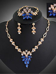 cheap -Women's Jewelry Set Rings / Earrings / Necklace - Fashion / European Jewelry Set For Wedding / Party / Special Occasion
