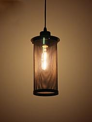 baratos -Retro Luzes Pingente Luz Descendente - Estilo Mini, 110-120V 220-240V Lâmpada Não Incluída