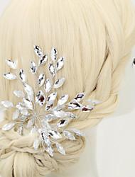 billige -Legering Hair Pin med Krystal / Rhinsten 1pc Bryllup / Speciel Lejlighed / Fødselsdag Medaljon