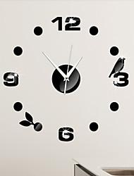 levne -Ostatní Módní a moderní Nástěnné hodiny , Ostatní Umělá hmota 17*17 inch (43*43cm)