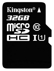 abordables -Kingston 32Go TF carte Micro SD Card carte mémoire UHS-I U1 Class10