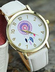 cheap -Women's New Fashion Leather Dreamcatcher Wrist Watch Cool Watches Unique Watches