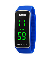 cheap -Children's Fashion Watch Sport Watch Digital Calendar / date / day Sport Watch LED Silicone Band Cool Black Blue Red Purple