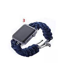 preiswerte -Uhrenarmband für Apple Watch Series 3 / 2 / 1 Apple Handschlaufe Moderne Schnalle Stoff