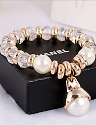 Women's Persona Beads Collection Bracelet Imitation Pearl / Obsidian Crystal / Imitation Pearl / Rhinestone