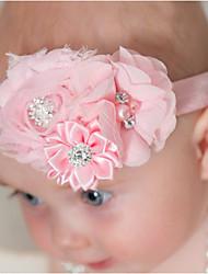 abordables -Enfants / Bébé Garçon / Fille Nylon / Autres / Satin Accessoires Cheveux Rose / Bandeaux