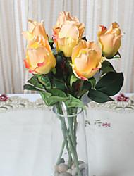 Polyester Roser Kunstige blomster