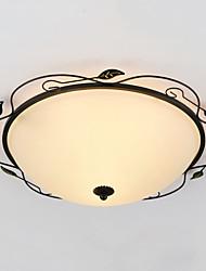 Contemprâneo / Tradicional/Clássico / Rústico/Campestre / Tifani / Lanterna / Rústico / Vintage / Retro LED Vidro Montagem do FluxoSala