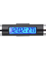 cheap -Hot Car LCD Digital backlight Automotive Thermometer Clock Calendar