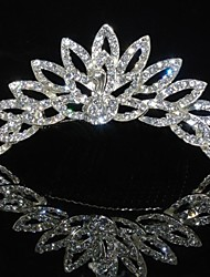 cheap -Women's Crystal Alloy Crown Silver
