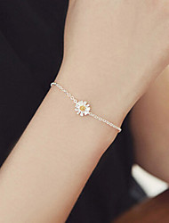 cheap -Women's Chain Bracelet / Charm Bracelet - Sterling Silver Bracelet Silver / Golden For Wedding / Party / Daily