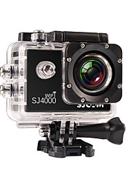 cheap -SJCAM SJ4000 WIFI Sports Action Camera 8 mp / 5 mp / 3 mp 1920 x 1080 Pixel Waterproof / WiFi 4x ±2EV 1.5 inch CMOS 32 GB H.264 English / French / German 30 m