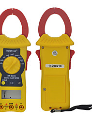 Manual Range Digital Clamp Meter Voltage & Resistance Testing Multimeter HoldPeak HP-6206