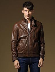 han l'édition des hommes cultivent son manteau de cuir court paragraphe de moralité
