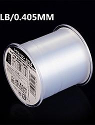 500M / 550 Yards Monofilamento Transparente 25LB 0.405 mm ParaPesca de Mar / Pesca Voadora / Isco de Arremesso / Pesca no Gelo / Rotação