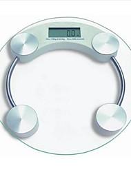 1set corpo basekey muscolare acqua massa grassa bilancia digitale 400 lb colore casuale (stile)