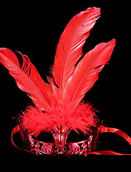 Angel/Devil Mask Masquerade Unisex Halloween Carnival Festival/Holiday Halloween Costumes Solid