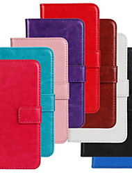 cheap -Horse Grain Solid Color PU Leather Full Body Cover with Stand and Case for Nokia Lumia 630/635 (Assorted Colors)