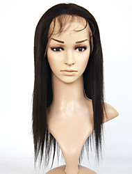 cheap -Brazilian Hair Synthetic  Lace Front  Wig Yaki Straight   Lace Front  Wig For  Women