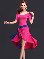 cheap -Belly Dance Dresses Women's Performance Rayon Draping Dress / Belt / Shorts