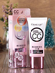 cheap -New Clever Cat Makeup Concealer Convenient Moisturized BB Cream for Dating 1Pc 35ml