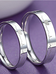 cheap -Pure Women's 925 Silver-Plated High Quality Handwork Elegant Ring 2PCS Promis rings for couples