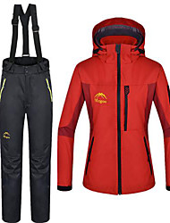 cheap -Women's Hiking 3-in-1 Jackets Outdoor Winter Waterproof Thermal / Warm 3-in-1 Jacket Winter Fleece Jacket Jacket Winter Jacket Clothing