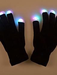 regalo di San Valentino creativo la luce guanto trucco leggero lampada prestazioni prop guanti bagliore costumi colorati led
