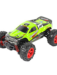 Coche de radiocontrol  FQ777 FQ777-9012 2.4G Off Road Car Alta Velocidad 4WD Drift Car Buggy Todoterreno Carro de Carreras 1:24 Brush