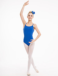 cheap -Cotton/Lycra with Mesh Camisole Leotards with Back Hole More Colors for Ladies and Gilrs