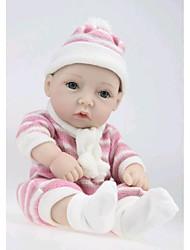 npkdoll возрождается ребенка кукла жесткий силикон 11inch 28см водонепроницаемая игрушка свитер девушка