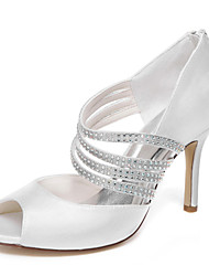 Women's Wedding Shoes Heels / Platform Heels Wedding / Dress Ivory / White