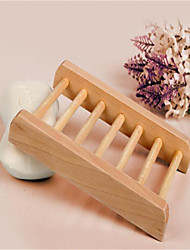 The Wooden Frame Wooden Soap  Box Manual Japanese Style  Soap Rack