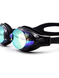 economico -Occhialini da nuoto Ompermeabile Gel di silice PC Bianco Nero Blu Blu scuro Giallo Rosa Nero Blu Blu scuro