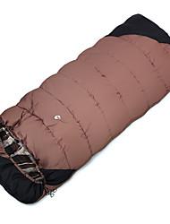 cheap -Sleeping Bag Rectangular Bag Single -10--10 Hollow CottonX80 Camping Outdoor Keep Warm Moistureproof/Moisture Permeability Waterproof