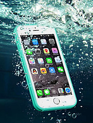 abordables -Para iPhone 8 iPhone 8 Plus iPhone 7 iPhone 7 Plus iPhone 6 iPhone 6 Plus Carcasa Funda Resistente al Agua Transparente Cuerpo Entero