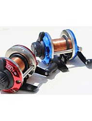 cheap -Spinning Reels 5.1:1 Gear Ratio+1 Ball Bearings Right-handed Sea Fishing Freshwater Fishing Trolling & Boat Fishing General Fishing Lure