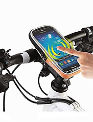 cheap -ROSWHEEL Bike Handlebar Bag Cell Phone Bag 4.8 inch Waterproof Waterproof Zipper Wearable Moistureproof Shockproof Multifunctional Touch