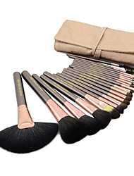 cheap -Makeup Brush Set Horse Mink Hair Goat Hair Pony Squirrel Bristle Eye Face Big Brush Middle Brush Small Brush