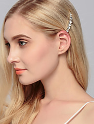 Women's Rhinestone Headpiece-Wedding Special Occasion Casual Office & Career Outdoor Hair Clip 1 Piece