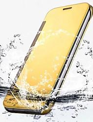 billiga -fodral Till Samsung Galaxy Samsung Galaxy S7 Edge Plätering / Lucka / Genomskinlig Fodral Enfärgad PC för S7 edge / S7 / S6 edge plus