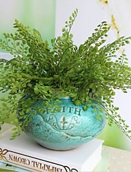 baratos -Flores artificiais 2 Ramo Estilo Moderno Plantas Flor de Mesa
